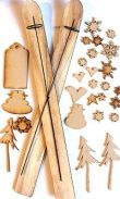 3-D Snowflakes Are Kit - Wood