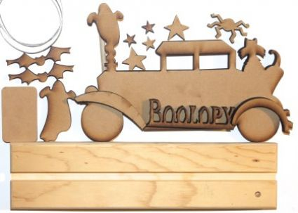 Boolopy Taxi Kit - Wood