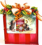 It's a House Mouse Christmas  Pattern Packet