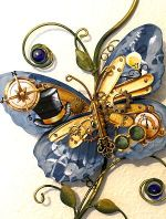 Steampunk Butterfly  Pattern Packet