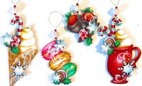 3-D Sweet Christmas  Pattern Packet