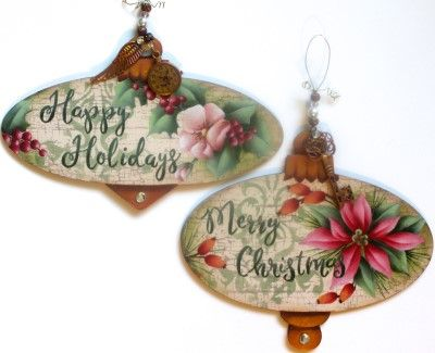 Vintage Ornaments  Pattern Packet