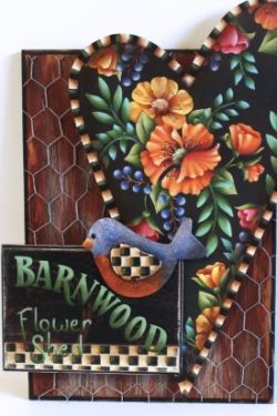 Barnwood Flower Shed  E-Packet