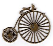 Embellishment Brass Bike