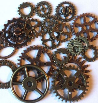 Steampunk Christmas Gears