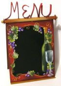 Wine Menu Chalkboard  E-Packet