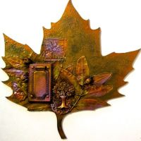 Fall Leaf Pattern Packet
