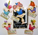 Personalized Celebration Magnets  E-Packet
