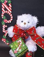Candy Cane Bear Pattern Packet